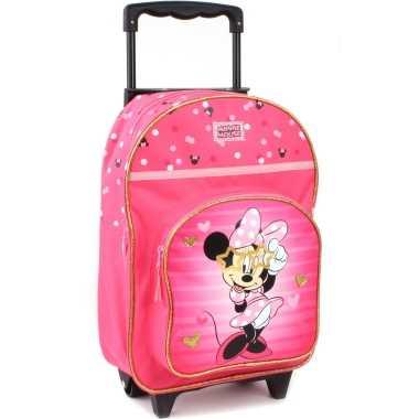 Disney minnie mouse trolley reiskoffer rugtas voor kinderen