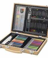 67 delige potloodset potloden koffer